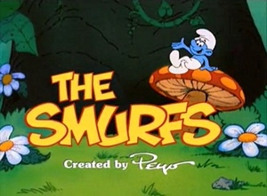 Smurfy-day Mornings of the1980s